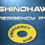 SHINOHAWA: ป้าย EMERGENCY PVC
